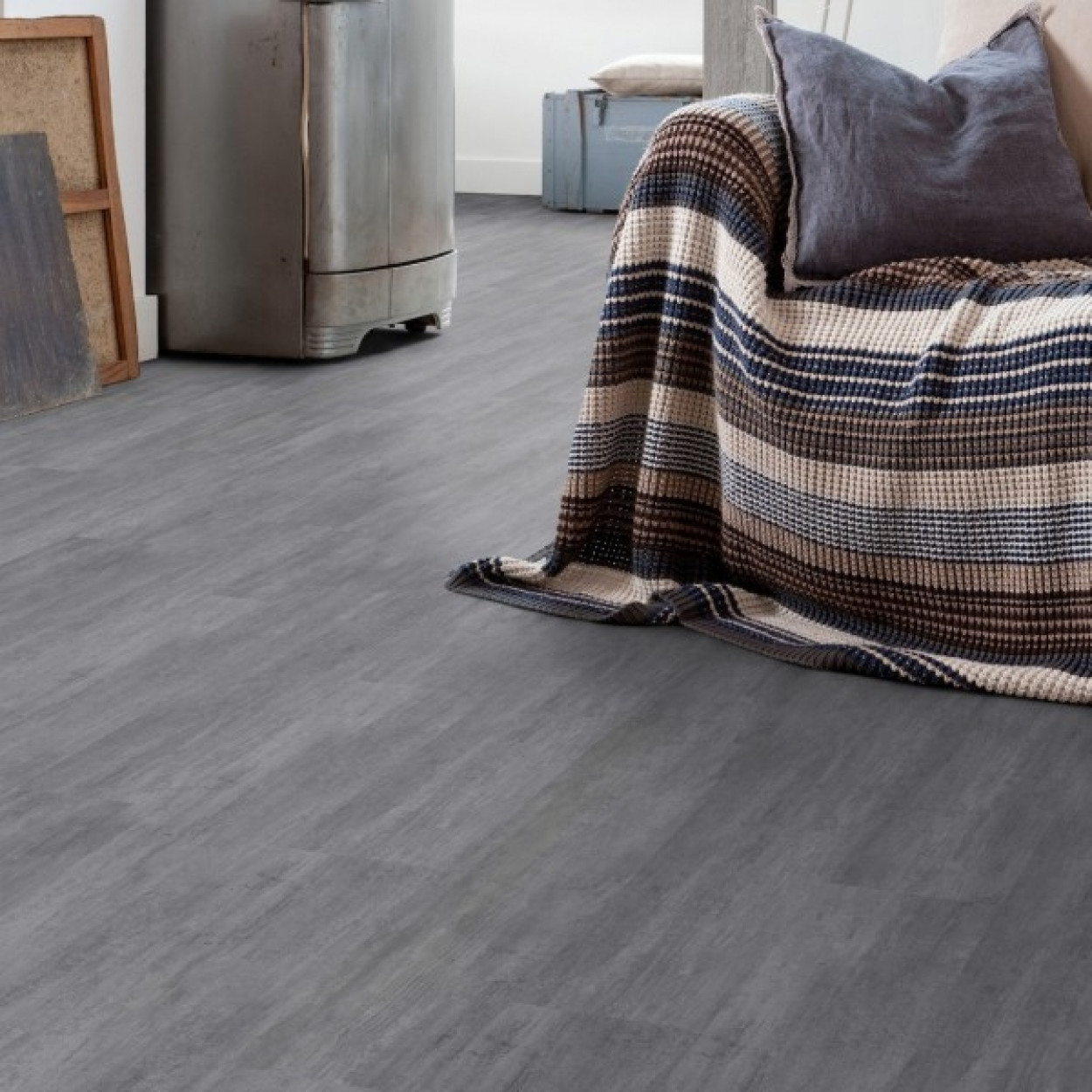 gerflor senso clic premium 0287 nolita grey lame pvc clipsable. Black Bedroom Furniture Sets. Home Design Ideas