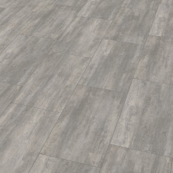 "Wineo 400 Stone | Dalle PVC clipsable hybride ""Courage Stone Grey"""