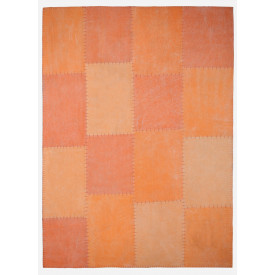 Tapis en coton Amazone 052005 Multicolore / Orange