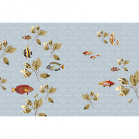Papier peint panoramique brillant fish1 DD114337 Livingwalls Walls by Patel