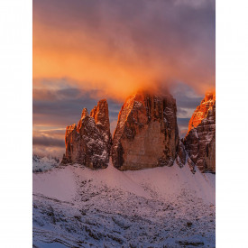Papier peint panoramique Mountain Peaks In Italy DD119068 A.S. Création Designwalls