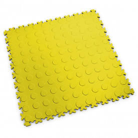 "Dalle PVC garage Fortelock Light 2080 ""Pastille Jaune"""