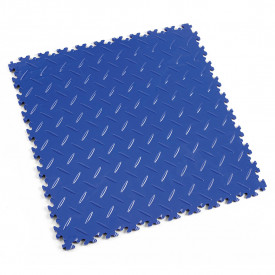 "Dalle PVC garage Fortelock Light 2050 ""Diamond Bleu"""