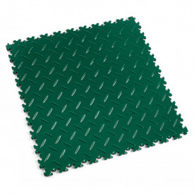 "Dalle PVC garage Fortelock Light 2050 ""Diamond Vert"""