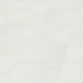 "Wineo 800 Tile L | Dalle PVC à coller ""Solid White"""