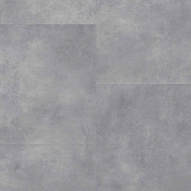 "Gerflor Creation Clic 55 ""0869 Bloom Uni Grey"" (39,1 x 72,9 cm)"