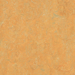 "Forbo Marmoleum Real ""3847 golden saffron"" (2,5 mm)"